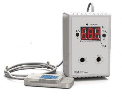 Регулятор вологості цифровий в розетку Deus Electro РВ-10Р з датчиком DHT11