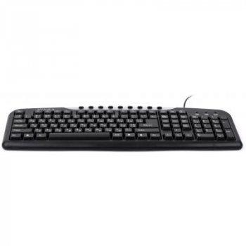 Клавіатура Vinga KB600BK чорна