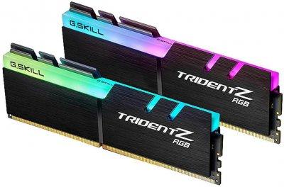 Оперативна пам'ять G.Skill DDR4-4000 32768MB PC4-32000 (Kit of 2x16384) Trident Z RGB (F4-4000C19D-32GTZR)