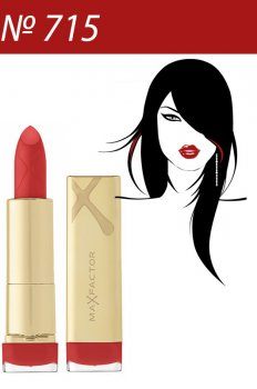 Max Factor Помада стійка увлажн. Colour Elixir 715 Ruby Tuesday 3 мл Код 20321