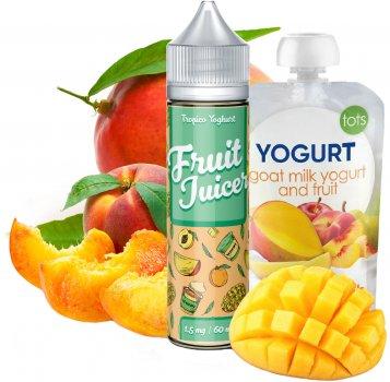 Рідина для електронних сигарет Fruit Juicer Tropic Yoghurt 60 мл (Йогурт з тропічними фруктами)