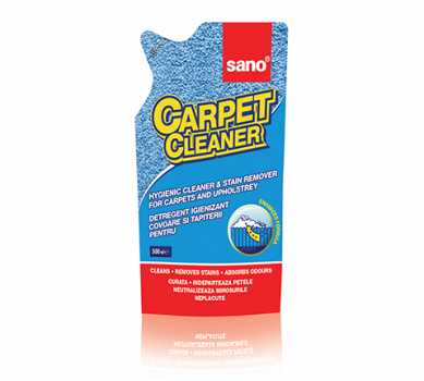 Пена для чистки ковров (запас) Sano Сarpet Cleaner 500 мл