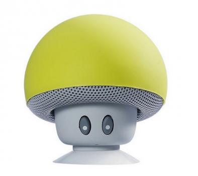 Портативная колонка TOPDCY Bluetooth Грибок зеленый