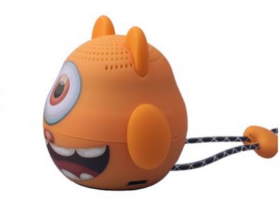 Портативна колонка TOPDCY Bluetooth колір оранжевий.