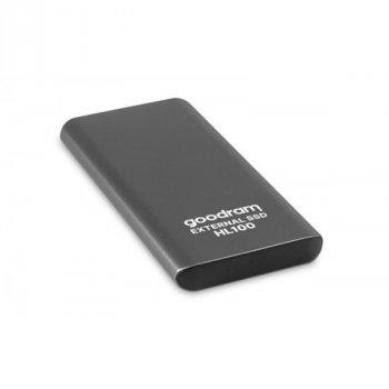 """Накопичувач зовнішній SSD 2.5"""" USB 512GB Goodram HL100 (SSDPR-HL100-512)"""