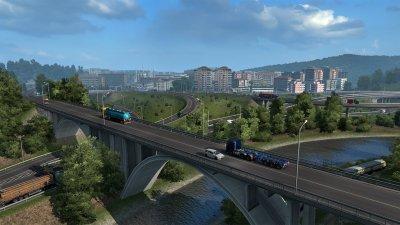 Игра Euro Truck Simulator 2 – Road to the Black Sea для ПК (Ключ активации Steam)