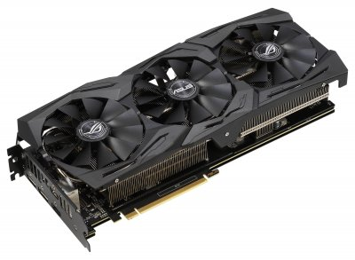 Asus PCI-Ex GeForce RTX 2060 ROG Strix O6G Gaming OC 6GB GDDR6 (192bit) (1860/14000) (2 x DisplayPort, 2 x HDMI 2.0b) (ROG-STRIX-RTX2060-O6G-GAMING)
