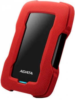 "Жорсткий диск ADATA Durable HD330 5TB AHD330-5TU31-CRD 2.5"" USB 3.1 External Red"