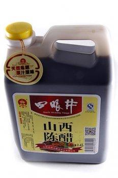 Уксус тёмный пшеничный SiYanJing 2.4л