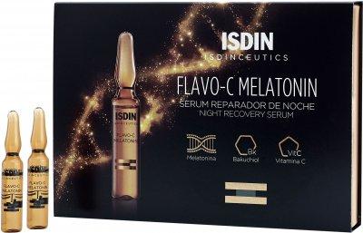 Сыворотка для лица Isdin Isdinceutics Flavo- C Melatonin / Serum Reparador De Noche Ночная востанавливающая 30х2 мл (8470001864802)