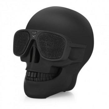 Bluetooth-колонка Череп Dabs Audio Skull Black Chrome
