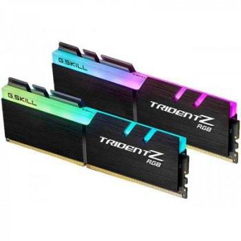 Модуль памяти для компьютера DDR4 16GB (2x8GB) 3000 MHz TridentZ RGB Black G.Skill (F4-3000C16D-16GT