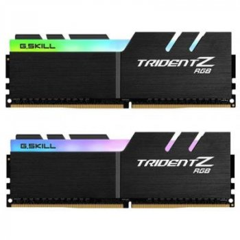 Модуль памяти для компьютера DDR4 32GB (2x16GB) 3000 MHz Trident Z RGB G.Skill (F4-3000C16D-32GTZR)