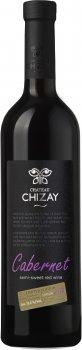Вино Chizay Каберне червоне напівсолодке 0.75 л 9-13% (4820001632941)