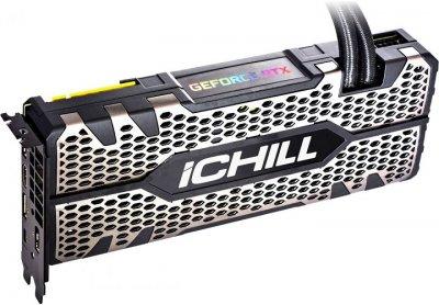 INNO3D PCI-Ex GeForce RTX 2080 iChill Black 8GB GDDR6 (256bit) (1860/14000) (HDMI, 3x DisplayPort, 1x USB-C) (C2080B-08D6X-11800004)