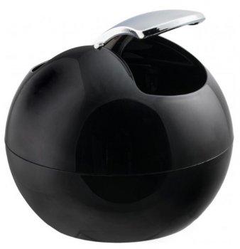 Відро для сміття Spirella Plastic Bowl 14x16 см Чорне (10.14972)