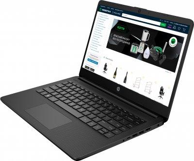 Ноутбук HP 14s-fq0061ur (2N5L1EA) Jet Black