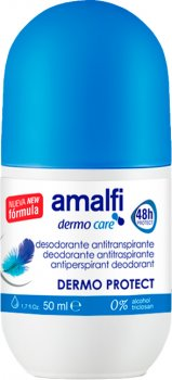 Роликовый дезодорант Amalfi Dermo Protector 50 мл (8414227043610)