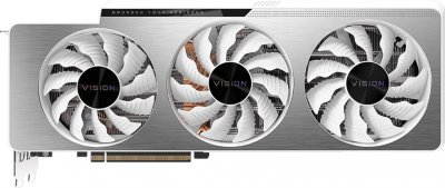 Gigabyte PCI-Ex GeForce RTX 3090 Vision OC 24 GB GDDR6X (384 bit) (1695/19500) (2 х HDMI, 3 x DisplayPort) (GV-N3090VISION OC-24GD)