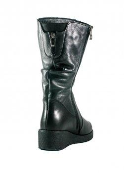 Сапоги зимние женские SND 470-к черные
