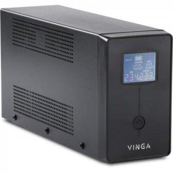 Джерело безперебійного живлення Vinga 800VA LCD (VPC-800M)