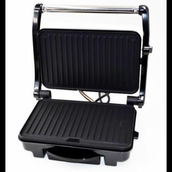 Гриль WimpeX для бутербродів притискної сэндвичница паніні Original 1500 Вт Сталевий з чорним (WX-1065)