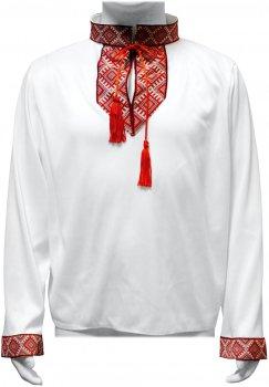 Рубашка Seta Decor Козачок 17-1005 112-124 см Бело-красная (2000046061018)