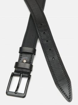 Мужской ремень кожаный Laras CV10gnn82-115 115 см Черный (ROZ6400028289)