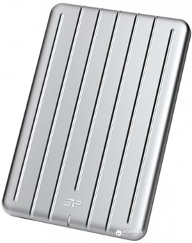 Silicon Power Bolt B75 512GB 2.5 USB 3.1 External Silver (SP512GBPSDB75SCS)