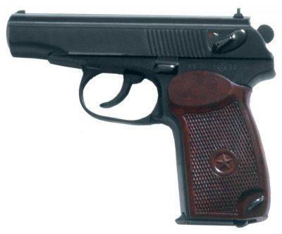 Пистолет Флобера СЕМ ПМФ-1 черно-коричневый