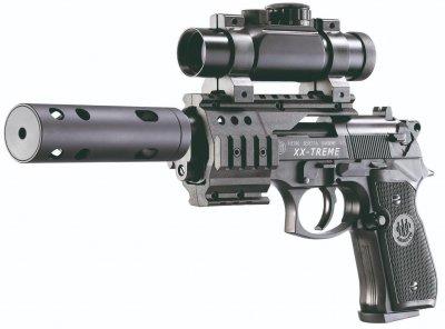 Пистолет пневматический Umarex Beretta 92 FS XX-Treme черный (419.00.51)