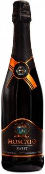 Вино игристое Amber Moscato белое сладкое 0.75 л 10-13.5% (4820009175730)