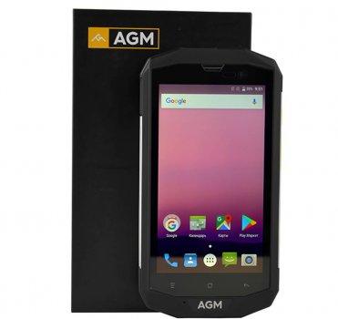 Мобільний телефон AGM A8 (4+64Gb) Black