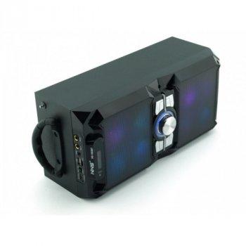 Колонка Bluetooth з мікрофоном у вигляді валізи бумбокс NS-1503BT Black