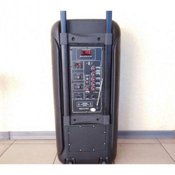 Акустическая система Su-Kam колонка со светомузыкой и два беспроводных микрофона (PARTYBOX-1010)