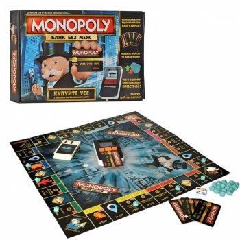 Настільна гра Hasbro Монополія з банківськими картками TG 002