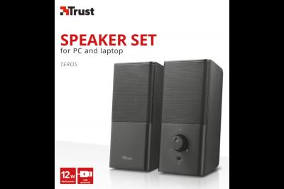Колонки Trust Teros 2.0 Speaker Set (22088)