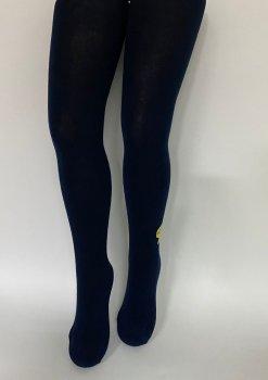 Детские колгтоки для девочек подростков KBS Турция размер 13 рост 158-170 см синие 4-1001