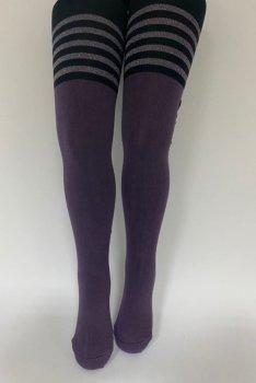 Детские колгтоки для девочек подростков KBS Турция размер 13 рост 158-170 см фиолетовые 4-10706