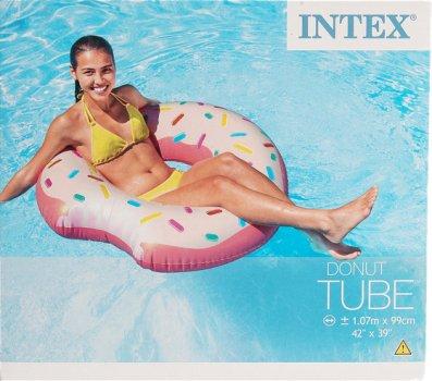 Надувной круг кресло Intex «Пончик» 107 х 99 см (56265)