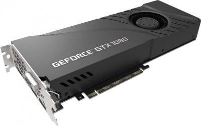 PNY PCI-Ex GeForce GTX 1080 Blower 8GB GDDR5X (256bit) (1607/10000) (HDMI, 3 x DisplayPort, DVI-D) (GF1080GTXCD8GEPB)