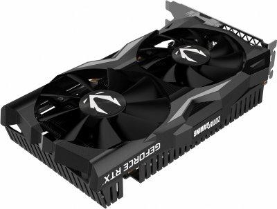 Zotac PCI-Ex GeForce RTX 2070 Mini 8GB GDDR6 (256bit) (1620/14000) (DVI-D, HDMI, 3 x DisplayPort) (ZT-T20700E-10P)