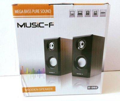 Колонки Music-F для ПК,ноутбука,MP3/MP4 плеєра 2.0 (tr1721)