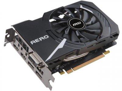 Відеокарта MSI GeForce GTX 1060 AERO ITX 6G OC (F00147688)
