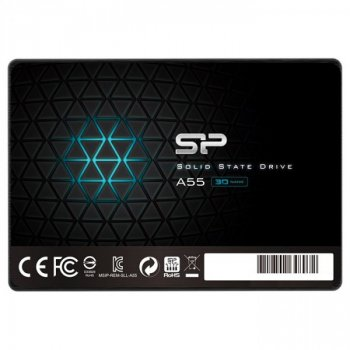 "Накопичувач SSD Silicon Power A55 256GB 2.5"" SATA III (SP256GBSS3A55S25) (F00150292)"