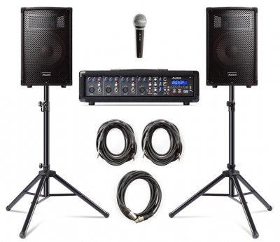 Комплект звукового обладнання Alesis Pa System In A Box Bundle (7-PASYSTEM WSTANDS)