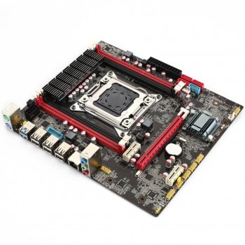 Материнська плата Huanan X79 E5 3.5B (s2011, Intel X79, PCI-Ex16)