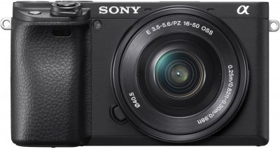 Фотоаппарат Sony Alpha a6400 E PZ 16-50mm F3.5-5.6 OSS (SELP1650) Black Официальная гарантия! (ILCE6400LB.CEC)