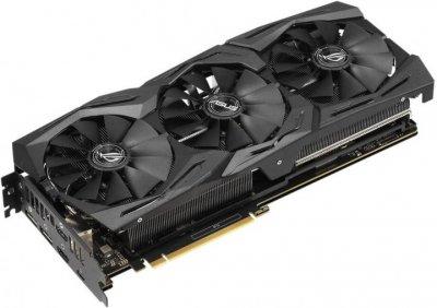 Asus PCI-Ex GeForce RTX 2070 ROG Strix 8GB GDDR6 (256bit) (1410/14000) (USB Type-C, 2 x HDMI, 2 x DisplayPort) (ROG-STRIX-RTX2070-8G-GAMING)