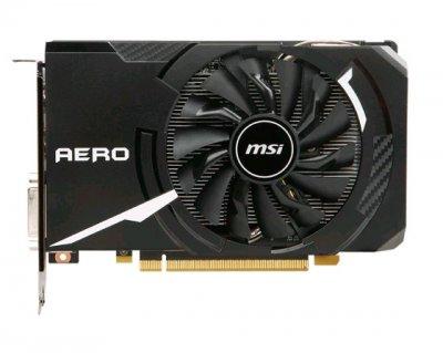 Видеокарта GeForce GTX1060 OC MSI AERO 6Gb DDR5 192bit DVI/2xHDMI/2xDP 1759/8008 MHz GTX 1060 AERO ITX 6G OC